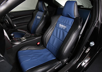 SARD Racing SEAT COVER BLUE