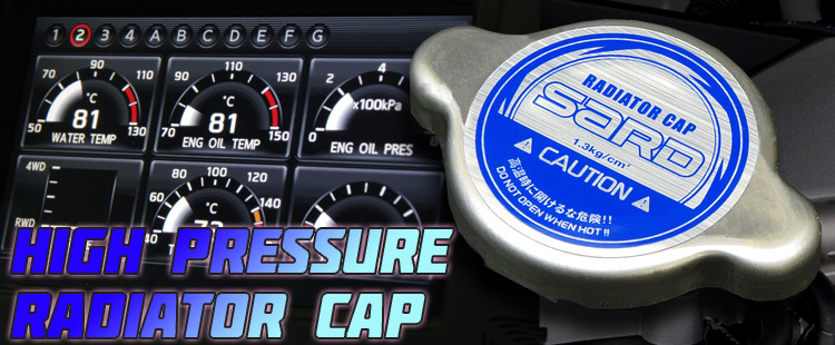 HIGH PRESSURE RADIATOR CAP